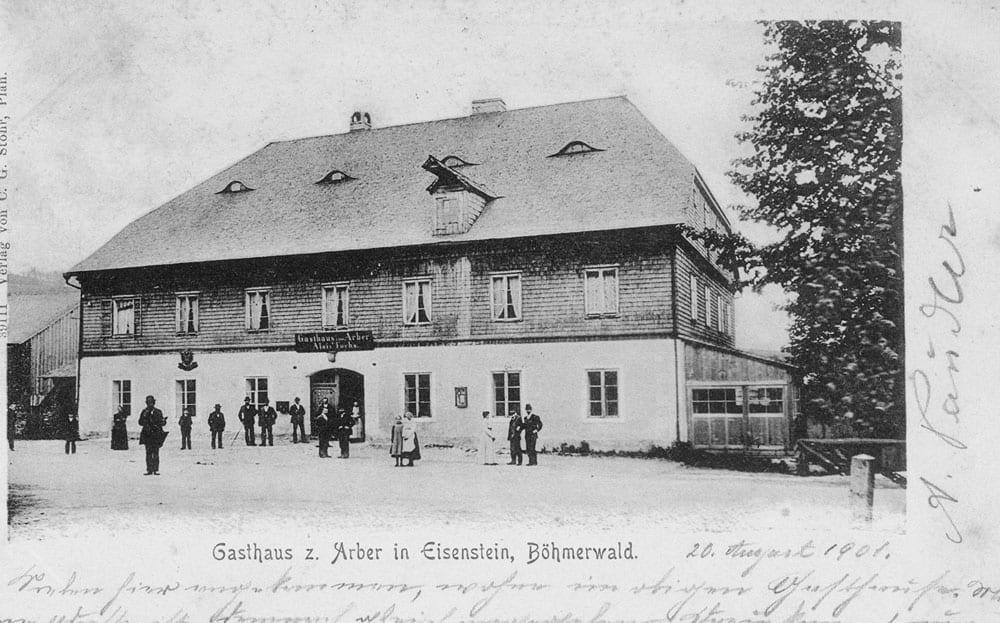 Gasthaus-Arber-Einsenstein-1901